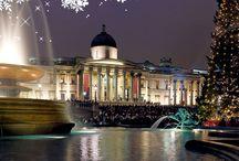 London Christmas time