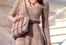 háčkování - šaty