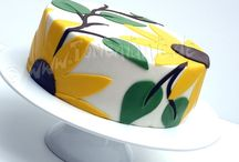 Sunflower cakes / Sunflower cakes