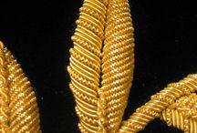 Золотное и жемчужное шитье