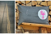 "PETITE MOON / Home decor selection based on my Pillow covers and Tea Towels line called ""Petite Moon"". Be inspired !"