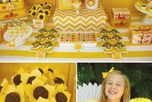 Sunshine 1st Bday party / by Aletha-Bo Mann