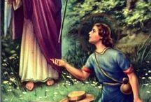 Szent Rafael arkangyal / Örülök, hogy Szent Mihály arkangyal mellett Szent Rafael arkangyal is velem van mind ezt köszönöm Istennek és Szent Gábor arkangyalt is