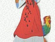 Brüder Grimm Frau Holle = Mother Holle Brothers Grimm