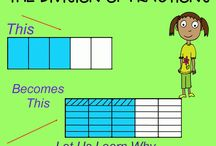 Multiplying and Dividing Fractions / Wonderful lessons to help teach multiplying and dividing fractions.