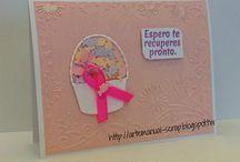 Alianzas Color Rosa!!! / Tarjetas hechas con el corazón, por una causa que a todas nos compete!!!