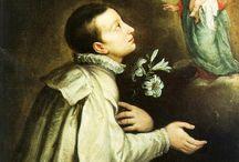 St Louis de Gonzague 1568–1591 / Saint Aloysius Gonzaga de la Cie. de Jésus Luigi Gonzaga