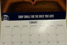 Shop Local this Month Calendar / Calendar