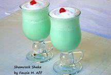 milkshakes,drinks etc