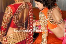 for Orange lehenga