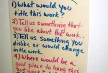 Crits and Talking About Art / by Kati Walsh