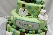 gâteau baptême Ethan
