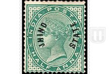 British India - Jhind-Convention State / The story of Stamps
