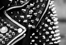 Fashion: Studs,Spikes, Leather, Rips:)  / by Trevy Rock