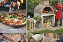 Pizzaöfen für draußen