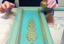 Zdobienie i malowanie mebli