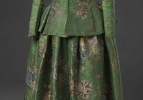 Mid 18th c caraco & skirt