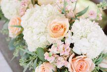 Danielle's Wedding ** / Summer of 2018. Peach and White, Garden Wedding, Oregon City, Oregon. Abernethy center
