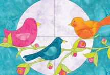 birds quilt