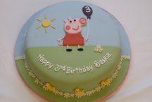 Simple cakes fondant