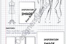 Fashion portfolio pages