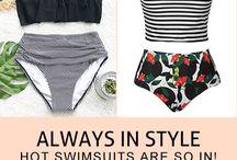 Bathing suits / Yassssss! These girls slayyyy!!