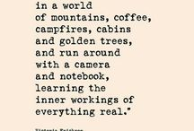 Quotes - Nature and Outdoors