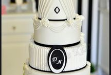 cake design : wedding cake et pièces montées