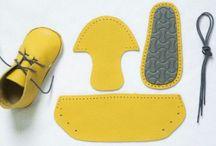 shoes leather felt