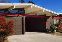 Eichler Paint Color Ideas / Get inspiration here on how to paint your Eichler or Mid Century Modern Home
