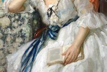 Mujer con libro en las manos