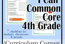school stuff | common core / by Kristen Dahlhofer
