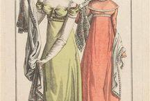 Regency shawls