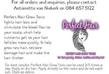perfect hair tonic / Hair growth