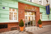 Hotel Adeba / Comfortable accommodation, friendly staff and a broad range of services, all this and much more at reasonable prices and in close proximity to the historic and modern city center. Just the perfect place for your stay in Prague.