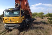 TRANSPORTE de LODOS / Servicio de transporte de lodos EDAR y posterior aplicación agrícola.