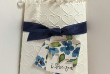 Cards Bow Builder, Mini Treat Bag / by Sandy Dean Johnson Copeland