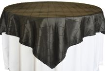 Table Overlays / See what Waterford Event Rentals has to offer you in Table Overlays