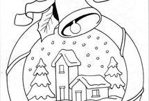 KOLOROWANKI Boże Narodzenie