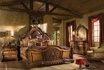 bedroom - chambre à coucher - sypialnia