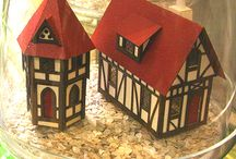 Create: Sparkly Little Houses, not just for Christmas!