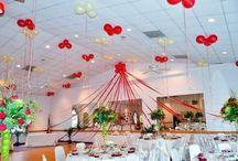 Decoraties met Lint en Tule / Met lint en tule van https://lintenkopen.nl maak je zelf de mooiste decoraties voor ieder feest. Of het nu jullie bruiloft is, een tuinfeest of een jubileum.