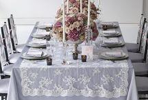 versiering voor je bruiloft. / bijv. tafelstukken voor op een normale tafel, bij bruiloften, voro een romantisch diner enz.