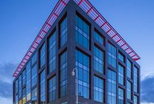 Aluprof on Offices / Aluprof aluminium systems used across the UK on office developments