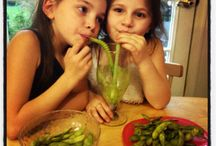Juices & Smoothies / Recipes and Pictures of Green Juices & Smoothies - try them out on your kids, you might be surprised - they might really love it.  It's a fantastic way of getting fruits and veggies into their diets!