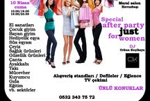 YILMAZ ALTINSOY / GOLD AJANS reklam & cast & organizasyon BURSA ALIŞVERİŞ FESTİVALİ  Bursa shopping fest