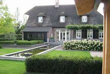 Semi modern huis