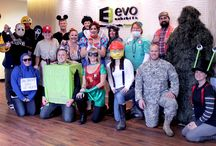 Fun at Evo Exhibits! / The team is the heart and soul of the trade show industry.  And it shows.   With an entrepreneurial spirit -  we work.  We work hard and smart.    Oh, and did we mention we're fun - too!