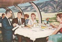 1950s Train Travel
