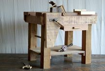 Recycled Work Bench